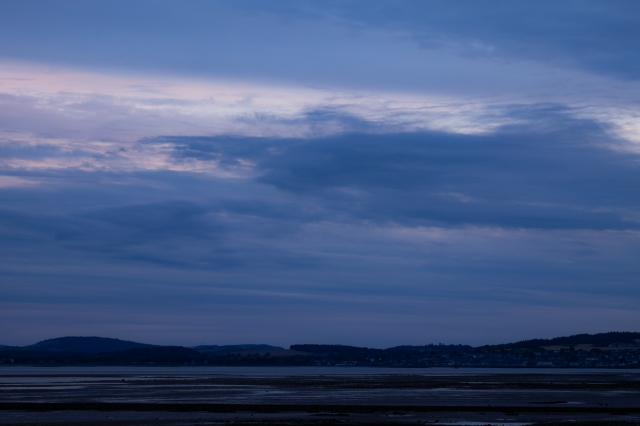 Sunset over Tayport